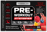 Pre-Workout Intensifier Fruit Punch 0.49 oz (14g) Trial Size