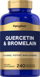 Quercetin Plus Bromelain, 400 mg (per serving), 240 Capsules