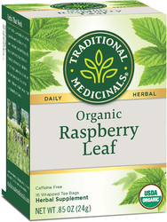 Raspberry Leaf Tea (Organic), 16 Tea Bags