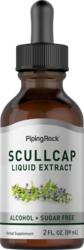 Scullcap Liquid Extract Alcohol Free, 2 fl oz (59 mL) Dropper Bottle