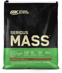 Serious Mass Weight Gain Powder (Chocolate), 12 lb