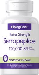 Serrapeptase Enzymes 120,000 SPU 120 Capsules