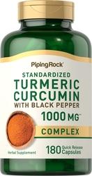 Turmeric Extract Curcumin 1000mg 180 Capsules