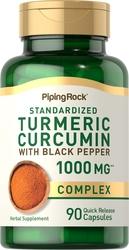 Turmeric Curcumin Complex 1000 mg w/ Black Pepper 90 Capsules