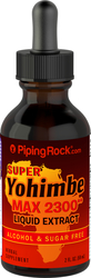 Super Yohimbe Max Liquid Extract Alcohol Free, 2,300 mg,  2 fl oz Dropper Bottle