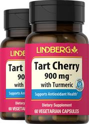 Tart Cherry with Turmeric, 900 mg, 60 Vegetarian Capsules