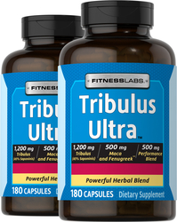 Tribulus Ultra 180 Capsules x 2 Bottles