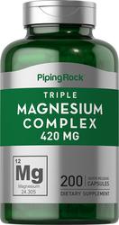 Triple Magnesium Complex 400 mg Capsules 200