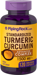 Turmeric Advanced Complex 1500 mg (per serving), 120 Capsules