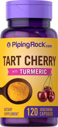 Turmeric with Tart Cherry, 120 Capsules