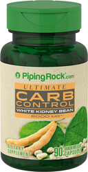 Ultimate Carb Control 6000mg  90 Capsules White Kidney Bean