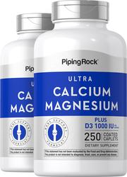 Ultra Calcium Magnesium Plus D3 1000 Cal, 500 Mag, 1000 IU 2 x 250 Coated Caplets
