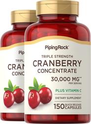 Ultra Triple Strength Cranberry Plus C, 15,000 mg, 2 x 150 Capsules