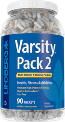 Varsity Pack 2 (Multi-Vitamin & Mineral), 90 Packets