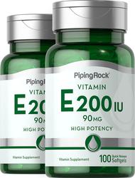 Vitamin E-200 IU  100 Softgels