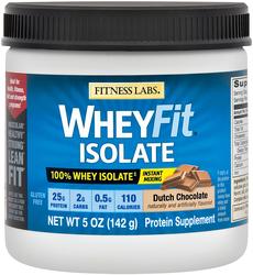 WheyFit Isolate (Dutch Chocolate) (Trial Size), 5 oz