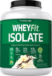 WheyFit Isolate (Natural Vanilla), 5 lb