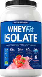 WheyFit  Isolate (Wild Strawberry Explosion), 2 lb