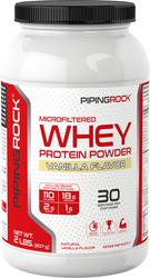 Whey Protein Powder (Natural Vanilla), 2 lbs (907 g)