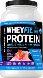 WheyFit Protein (Strawberry Swirl) 2 lb