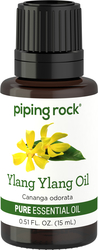 Ylang Ylang Essential Oil 1/2 oz (15 ml) Dropper Bottle